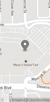 Map of 2855 Stevens Creek Blvd in Santa Clara