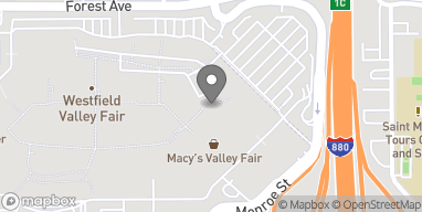 Map of 2855 Stevens Creek Blvd in Santa Clara