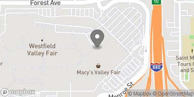Mapa de 2855 Stevens Creek Blvd en Santa Clara