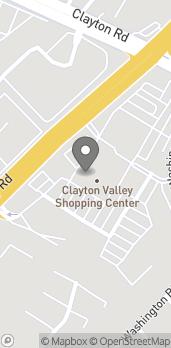 Map of 5434 Ygnacio Valley Rd in Concord