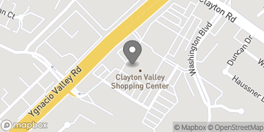Map of 5434 Ygnacio Valley Rd in Concord