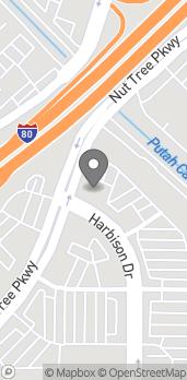 Mapa de 2000 Harbison Dr en Vacaville