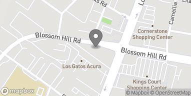 Mapa de 630 Blossom Hill Rd en Los Gatos