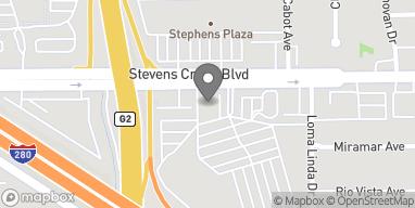 Mapa de 5180 Stevens Creek Blvd en San Jose