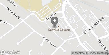 Mapa de 29 Railroad Ave en Danville