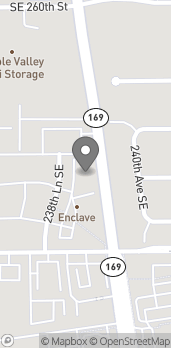 Map of 26250 238th Lane SE in Maple Valley