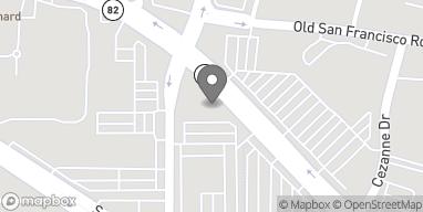 Mapa de 124 E El Camino Real en Sunnyvale