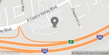 Mapa de 3949 E Castro Valley Blvd en Castro Valley