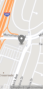 Map of 2390 Monument Blvd in Pleasant Hill