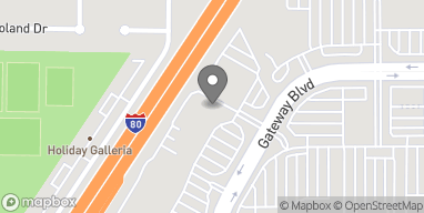 Mapa de 1570 Gateway Blvd en Fairfield