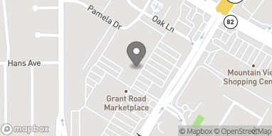 Map of 1040 Grant Rd in Mountain View