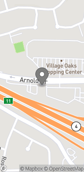 Map of 1150-A Arnold Dr in Martinez