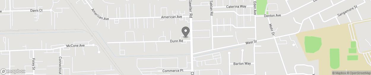 Carte de 24005 Clawiter Road à Hayward