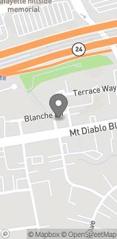 Mapa de 3592 Mt Diablo Blvd en Lafayette