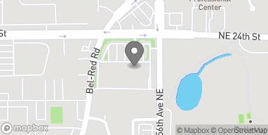 Map of 15577 NE 24th St in Bellevue
