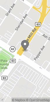 Map of 2805 El Camino Real in Palo Alto