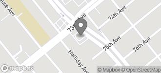 Map of 7301 Bancroft Avenue in Oakland