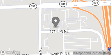Map of 2701 171st Place NE in Marysville