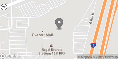 Map of 1402 SE Everett Mall Way in Everett