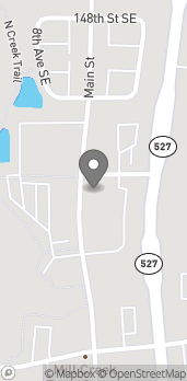 Map of 15111 Main St in Mill Creek