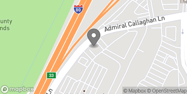 Mapa de 976 Admiral Callaghan Lane en Vallejo