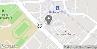 Map of 1013 El Camino Real in Redwood City