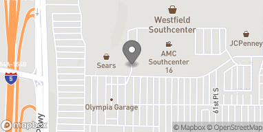Map of 344 Southcenter Mall in Tukwila