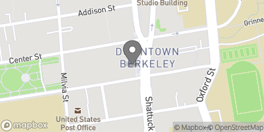 Map of 2180 Shattuck Ave in Berkeley