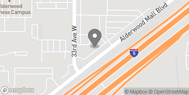 Map of 3225 Alderwood Mall Boulevard in Lynnwood