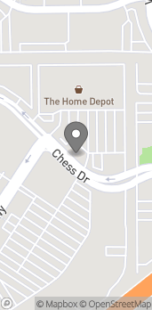 Map of 2015 Chess Dr in San Mateo
