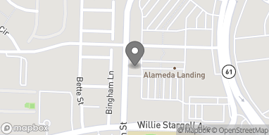 Map of 2620 5th St in Alameda