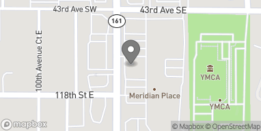 Map of 4417 S. Meridian Street in Puyallup