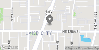 Map of 12512 Lake City Way in Seattle