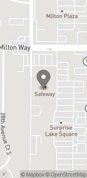 Map of 900 Meridian Avenue E in Milton
