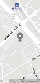 Mapa de 31 West Hillsdale Boulevard en San Mateo