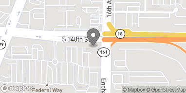 Map of 1507 South 348th Street in Federal Way