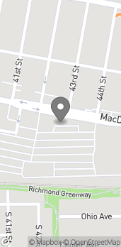 Map of 4250 Macdonald Ave in Richmond