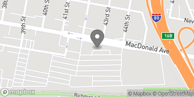 Mapa de 4250 Macdonald Ave en Richmond