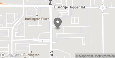 Map of 1820 South Burlington Blvd in Burlington