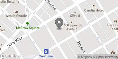 Map of 600 Pine St in Seattle