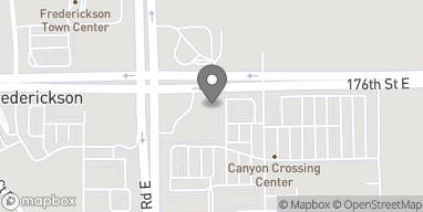 Map of 5604 176th St E in Puyallup