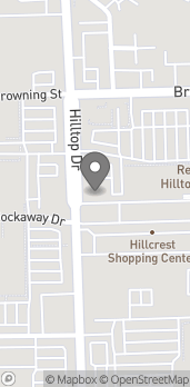 Map of 835 Browning Street in Redding