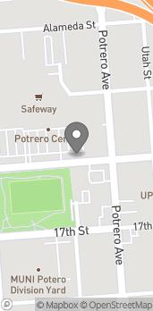 Mapa de 2300 16th St en San Francisco