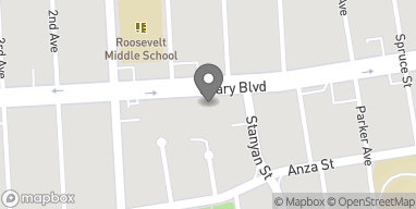 Map of 3555 Geary Blvd in San Francisco