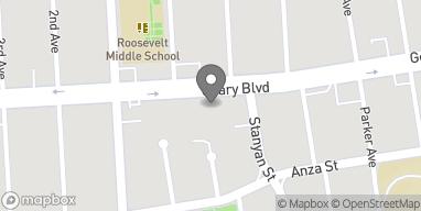 Mapa de 3555 Geary Blvd en San Francisco