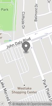 Mapa de 223 Westlake Center en Daly City