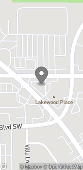 Map of 10009 Bridgeport Way SW in Lakewood