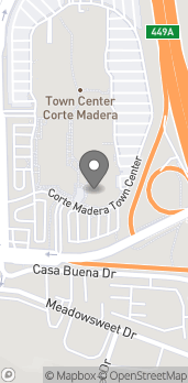 Map of 305 Corte Madera Town Ctr in Corte Madera