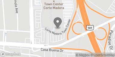 Mapa de 305 Corte Madera Town Ctr en Corte Madera