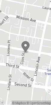Map of 835 4th St in San Rafael